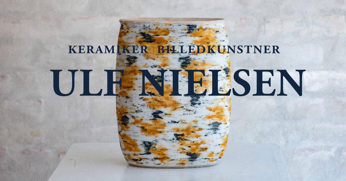 Keramiker og billedkunstner Ulf Nielsen - Faaborg